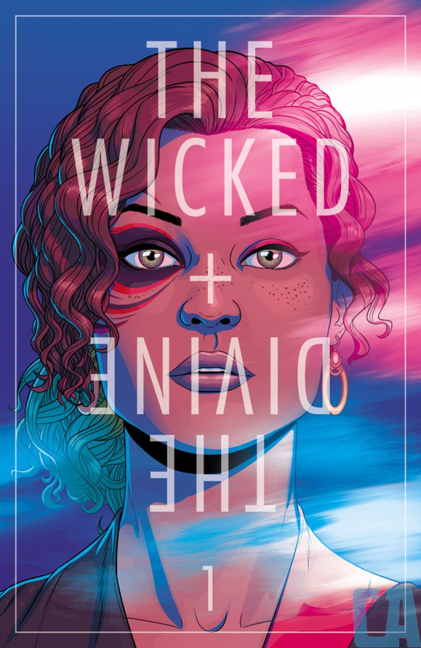 The Wicked + The Divine cover.