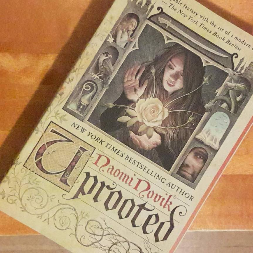 Cover of Uprooted by Naomi Novik.