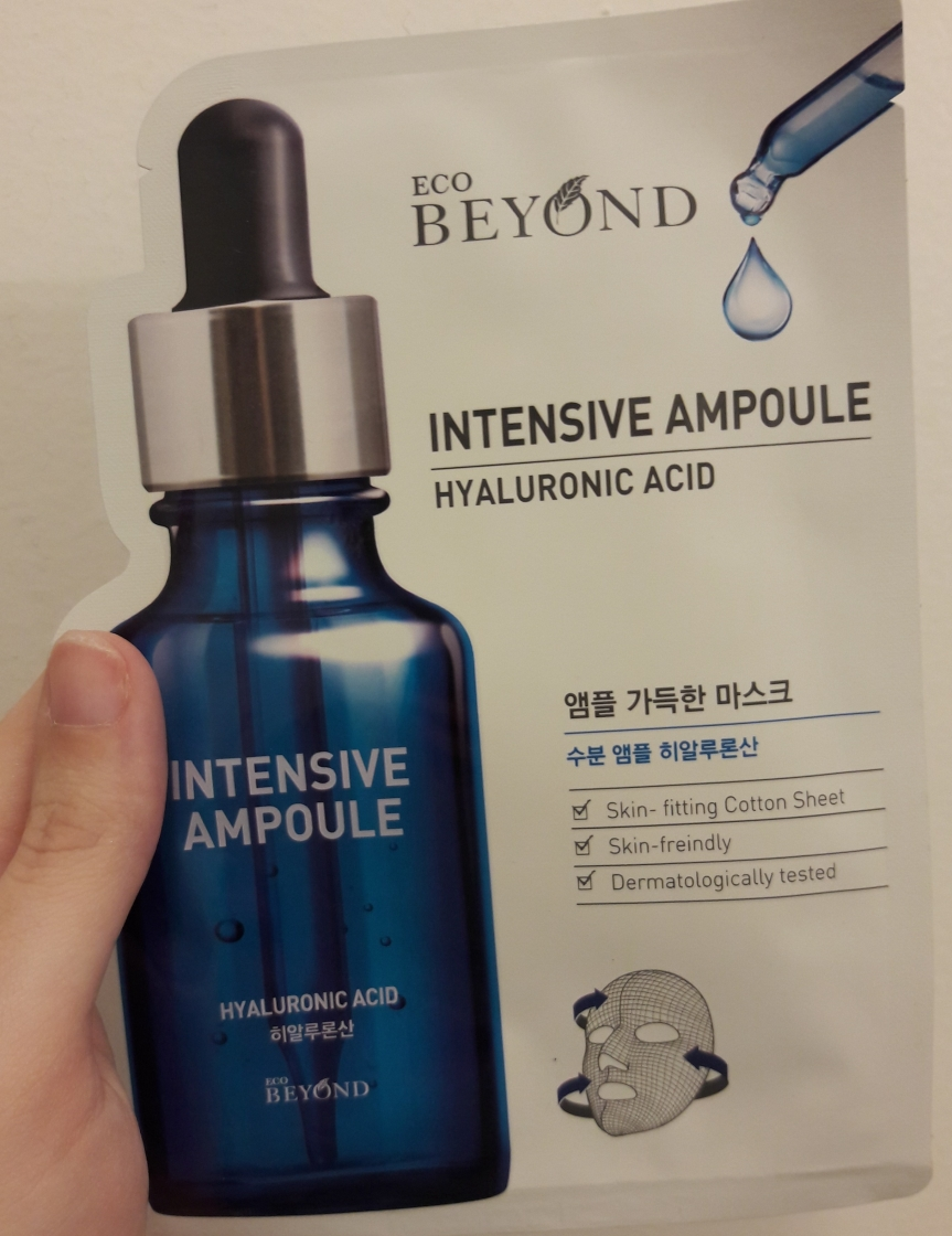 Eco Beyond Intensive Ampoule Hyaluronic Acid, front of package